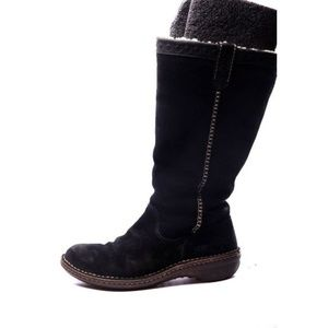 ugg boots SWELL suede  black winter snow 8